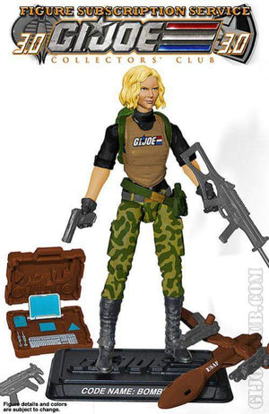 GI Joe Figure Subscription Service 3.0 Bombstrike