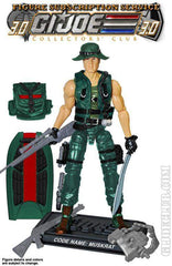 GI Joe Figure Subscription Service 3.0 Muskrat