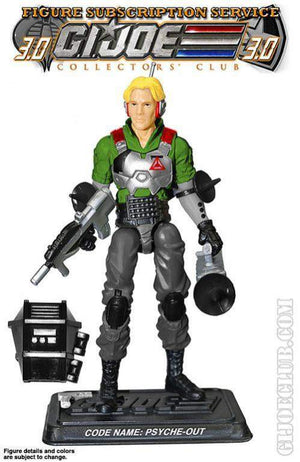 GI Joe Figure Subscription Service 3.0 Psyche-Out