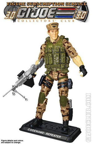 GI Joe Figure Subscription Service 3.0 Repeater