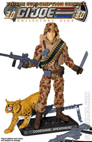 GI Joe Figure Subscription Service 3.0 Spearhead