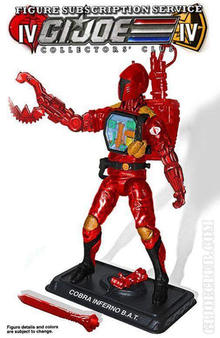 GI Joe Collector Club FSS 4.0 Cobra Battle Andriod Trooper: Cobra Inferno B.A.T