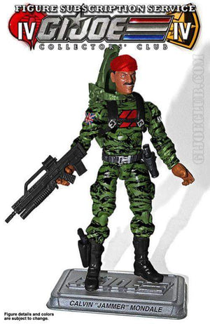 "GI Joe Collector Club FSS 4.0 Special Action Force Communications: Calvin ""Jammer"" Mondale"