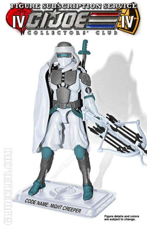 GI Joe Collector Club FSS 4 0 Cobra Ice Ninja: Night Creeper