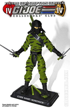 GI Joe Collector Club FSS 4.0 GI Joe Ninja Commando: Nunchuk