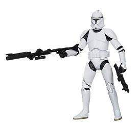 Star Wars Black Series 6-Inch Action Figures Wave 4 - Clone Trooper (Attack of the Clones)