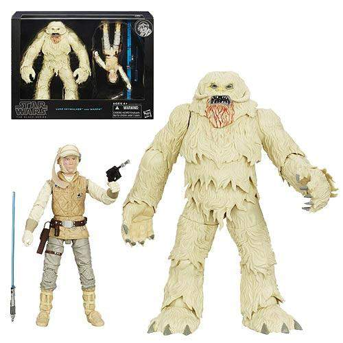 "Star Wars The Black Series Hoth Luke Skywalker 6"" with Wampa"
