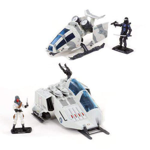 G.I. Joe 50th Anniversary Battle Below Zero Ghost Hawk and Cobra W.O.L.F.