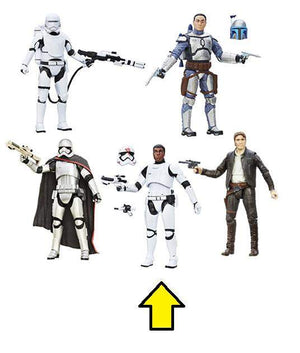 Finn Fn-2187 - Star Wars Black Series 6-Inch Wave 5