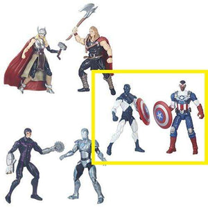 Shield Wielding Heroes - Marvel Legends Comic Packs Action Figures Wave 1