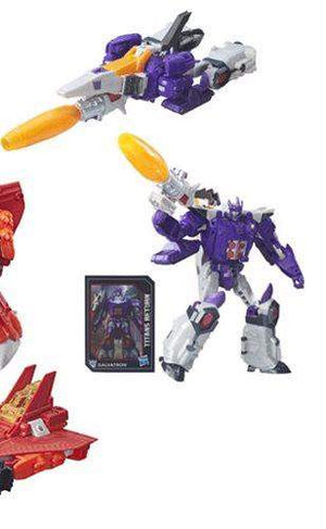 Galvatron - Transformers Generations Titans Return Voyager Wave 1
