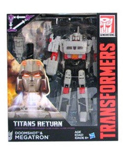 G1 Megatron - Transformers Generations Titans Return Voyager Wave 3