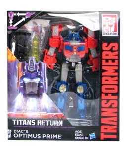 G2 Optimus Prime - Transformers Generations Titans Return Voyager Wave 3