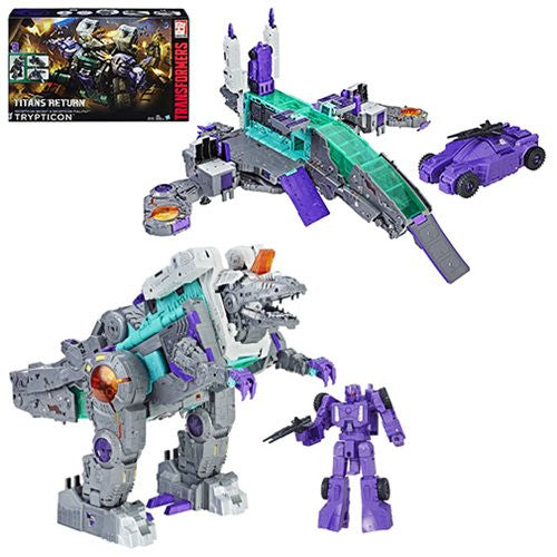 Transformers Generations Titans Return Trypticon