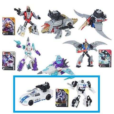 Autobot Jazz - Transformers Generations Power of the Primes Deluxe Wave 1
