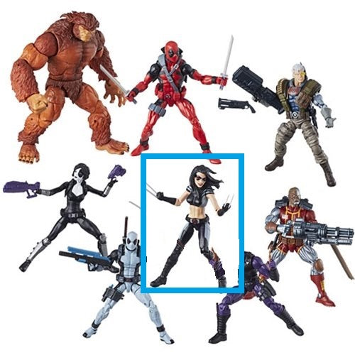 X-23 - Deadpool Marvel Legends Wave 1 (Sasquatch BAF)