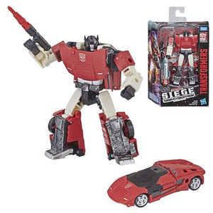 Sideswipe - Transformers Generations Siege Deluxe Class Wave 1