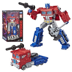 Optimus Prime - Transformers Generations Siege Voyager Class Wave 1
