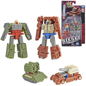 Autobot Battle Patrol - Transformers Generations Siege Micromasters Wave 1