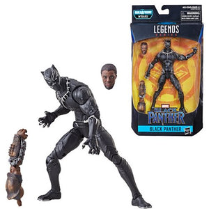 Unmasked Black Panther - Black Panther Marvel Legends Wave 2 (M'Baku BAF)