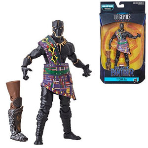 T'Chaka Black Panther - Black Panther Marvel Legends Wave 2 (M'Baku BAF)