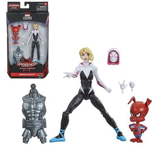 Gwen Stacy and Peter Porker - Marvel Legends Spider-Man Wave 1 (Stilt Man BAF)