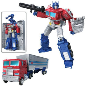 Optimus Prime - Transformers War for Cybertron Kingdom Leader Wave 1