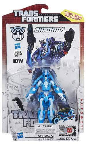 Transformers Generations Deluxe  Wave 11 Chromia