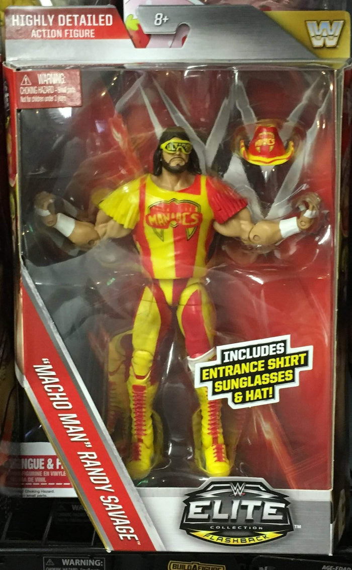WWE Elite Series 44 Ultimate Maniac Randy Savage