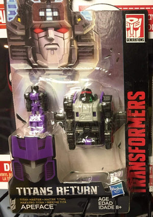 Apeface - Transformers Generations Titan Masters Wave 2