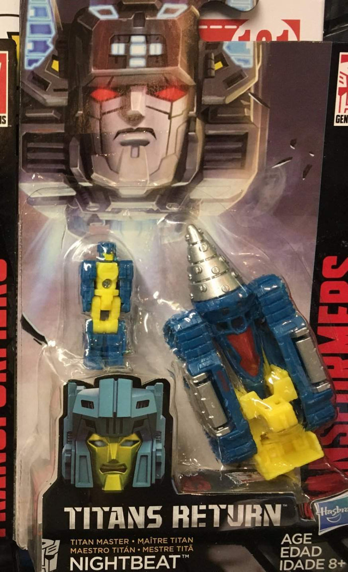 Nightbeat - Transformers Generations Titan Masters Wave 2