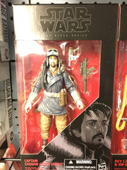 "Captain Cassian Andor (Eadu) - Star Wars Black 6"" Wave 7"