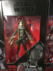 "Sergeant Jyn Erso (Jedha) - Star Wars Black 6"" Wave 7"