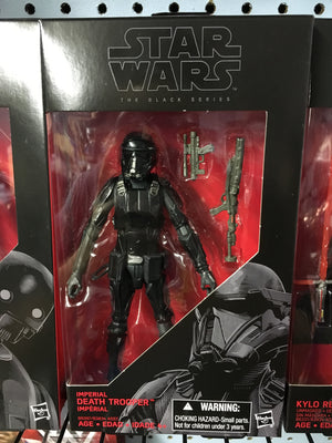 "Imperial Death Trooper - Star Wars Black 6"" Wave 7"