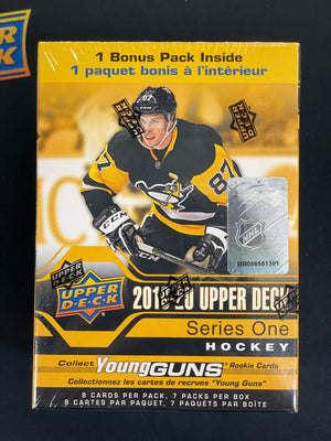 2019/20 Upper Deck Series 1 Hockey Blaster Box