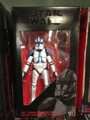 501st Legion Clone Trooper - Order 66 Star Wars Black Series 6""