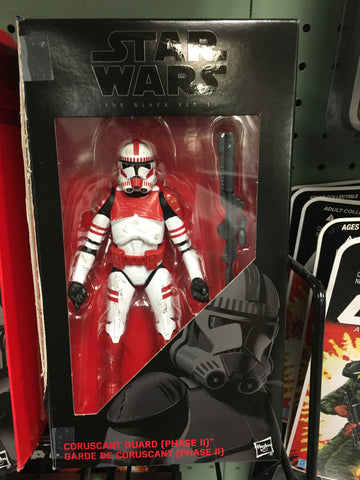 Coruscant Guard (Phase II) - Order 66 Star Wars Black Series 6""