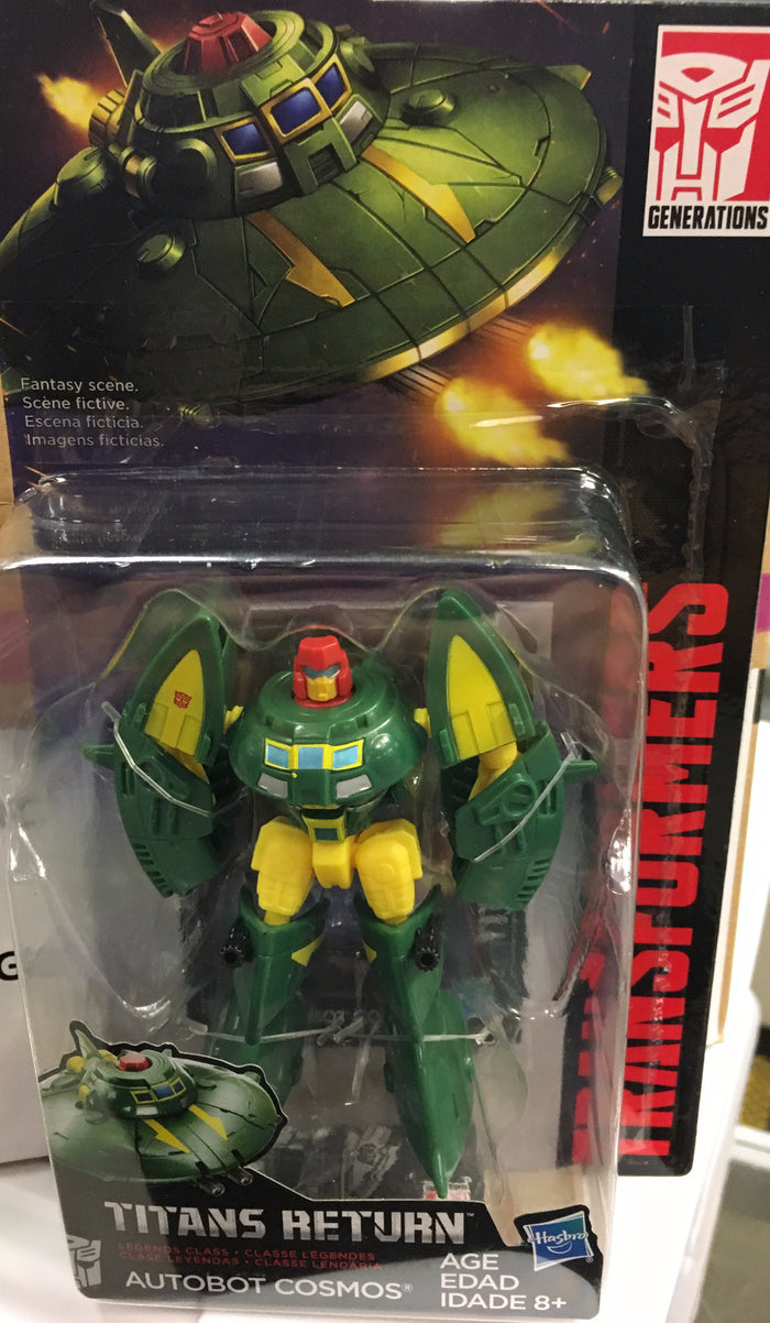 Autobot Cosmos - Transformers Generations Titans Return Legends Wave 5