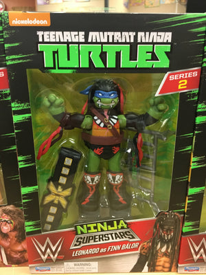 Leonardo/Finn Balor - TMNT WWE Collector Figure