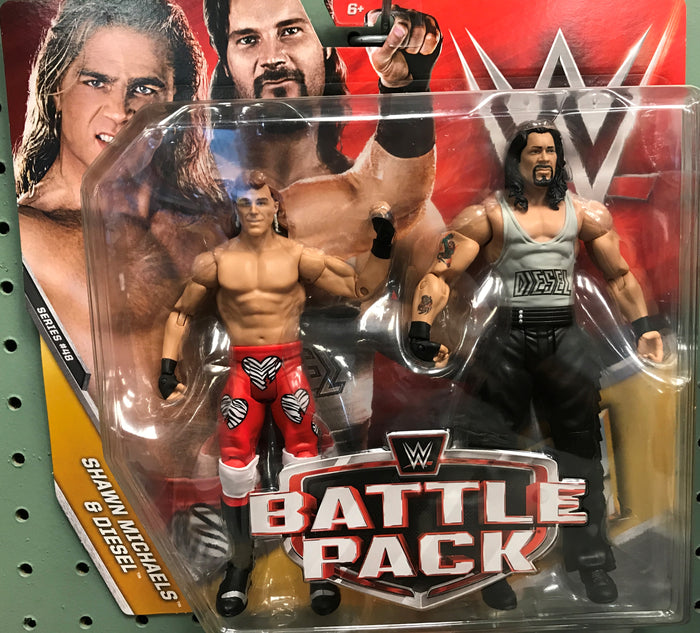 WWE Battle Pack Series 48 - Shawn Michaels and Diesel