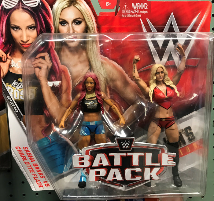 WWE Battle Pack Series 47 - Sasha Banks and Charlotte Flair