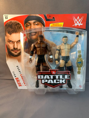 Finn Balor vs Bobby Lashley - WWE Battle Pack Series 63
