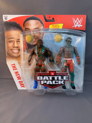 Big E & Xavier Woods - WWE Battle Pack Series 63