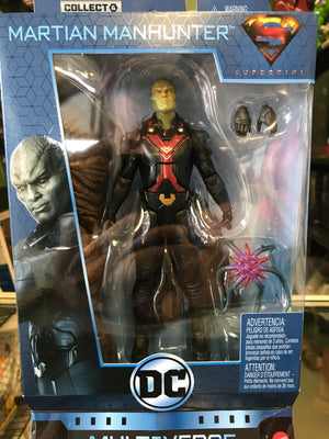 DC Comics Multiverse Wave 8 - Martian Manhunter (Supergirl TV) (Clayface BAF)
