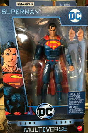 DC Comics Multiverse Wave 8 - Superman (Rebirth) (Clayface BAF)