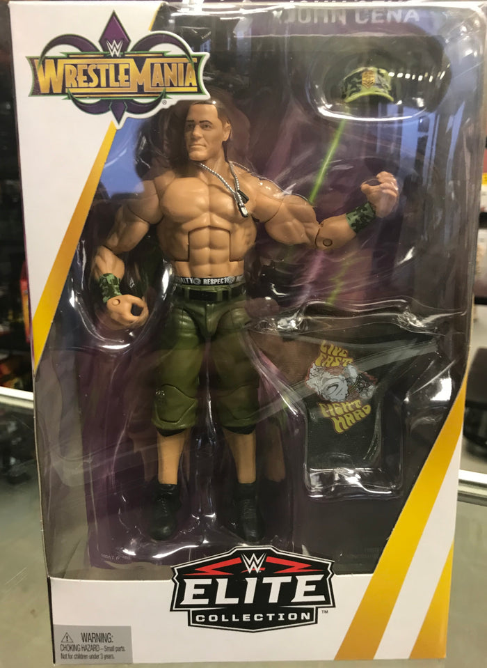 "WWE Elite ""WrestleMania 34"" - John Cena"
