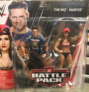 WWE Battle Pack Series 51 - The Miz and Maryse