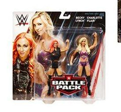 Charlotte Flair and Becky Lynch - WWE Battle Pack Series 55