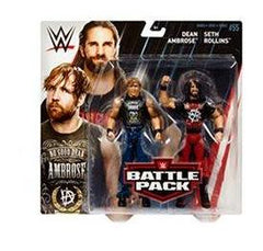 Seth Rollins and Dean Ambrose - WWE Battle Pack Series 55