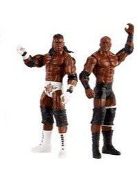 Bobby Lashley with King Booker - WWE Championship Showdown Series 2